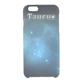 Taurus constellation clear iPhone 6/6S case