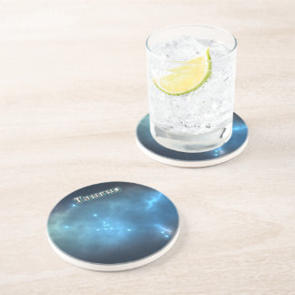 Taurus constellation coaster