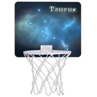 Taurus constellation mini basketball hoop