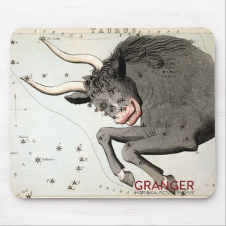 Taurus Constellation Mouse Pad