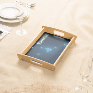 Taurus constellation serving tray