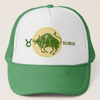Taurus Emerald Designer Modern Trucker Hat