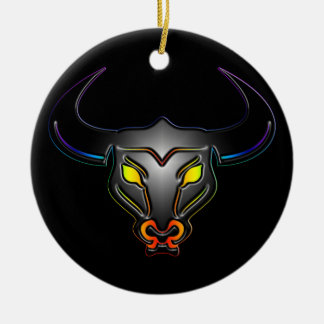 Taurus Gay Pride Ornament