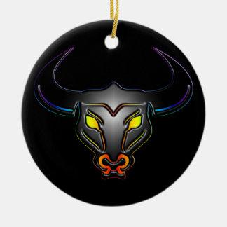 Taurus Gay Pride Ornament