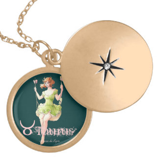 Taurus Gold Plated Necklace