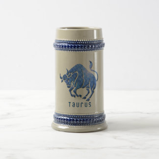 Taurus Horoscope Beer Mug