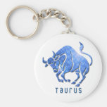 Taurus Horoscope Keychain