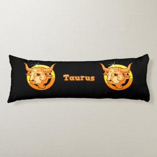 Taurus illustration body pillow