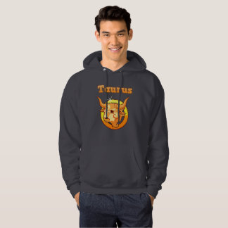 Taurus illustration hoodie