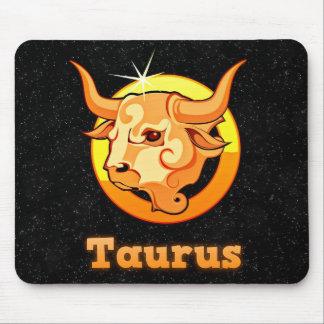Taurus illustration mouse pad