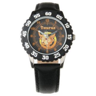 Taurus illustration watch