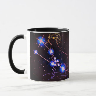 Taurus in the year of the Sheep/Ram Mug