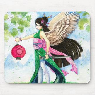 Taurus Mousepad, Geisha Zodiac Fine Art Print
