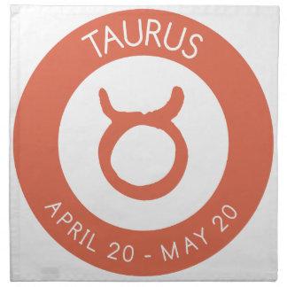 Taurus Napkin