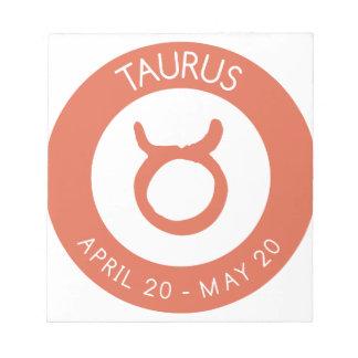 Taurus Notepad