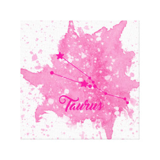 Taurus Pink Wall Art