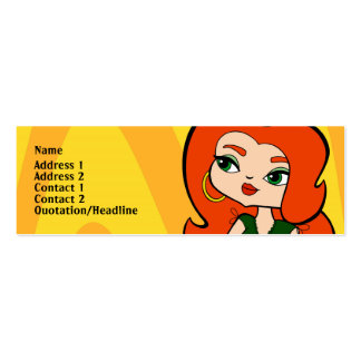 Taurus Profile Card Mini Business Card
