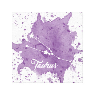 Taurus Purple Wall Art
