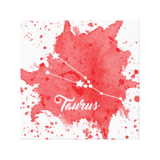 Taurus Red Wall Art