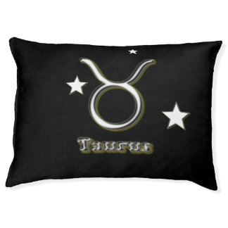 Taurus symbol pet bed