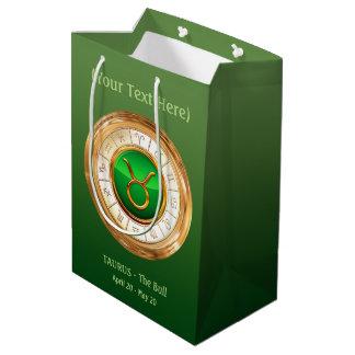 Taurus - The Bull Zodiac Sign Medium Gift Bag
