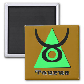 Taurus - Three Elements of Earth Magnet