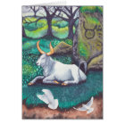 Taurus Watercolor Card