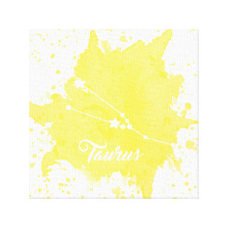 Taurus Yellow Wall Art