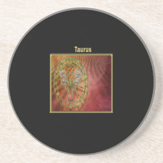 Taurus Zodiac Astrology design Coaster