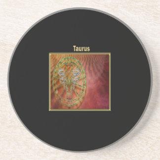 Taurus Zodiac Astrology design Horoscope Coaster