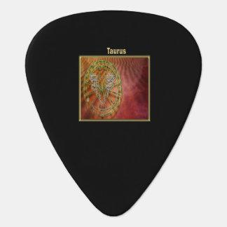 Taurus Zodiac Astrology design Horoscope Guitar Pick
