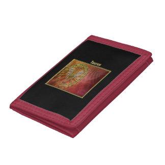 Taurus Zodiac Astrology design Tri-fold Wallets