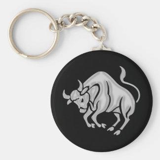 Taurus Zodiac Astrology Keychain