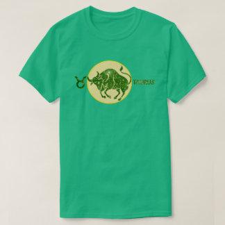 Taurus Zodiac Emerald color Designer T-Shirt