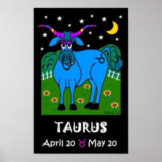 TAURUS - ZODIAC POSTER
