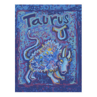 Taurus, Zodiac Products Postcard
