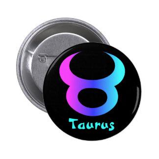 Taurus zodiac sign buttons