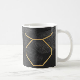 Taurus Zodiac Sign | Custom Background Coffee Mug