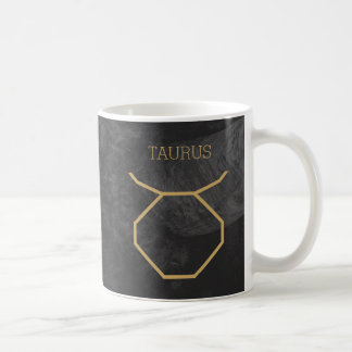 Taurus Zodiac Sign | Custom Background + Text Coffee Mug