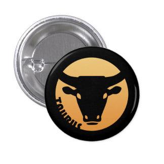 Taurus Zodiac Sign Pinback Button