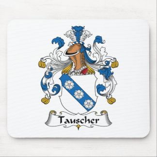 Tauscher Family Crest Mouse Pad