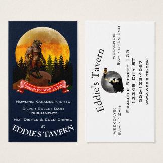 Tavern, Bar, Pub Business Card