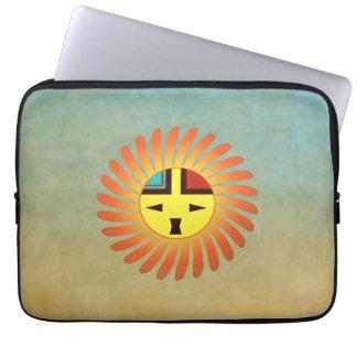 Tawa Kachina - Sunface Laptop Sleeve