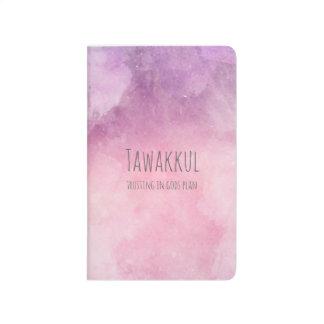 Tawakkul trusting in God's plan pocket journal