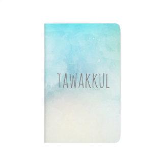 Tawakkul turquoise pocket journal