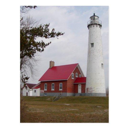 Tawas Lighthouse Postcard
