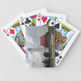 Tawas Point Lighthouse Bicycle Playing Cards