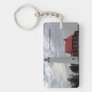 Tawas Point Lighthouse Keychain