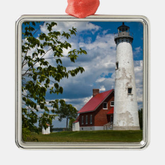 Tawas Point Lighthouse Metal Ornament