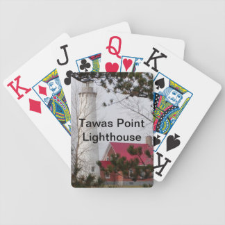 Tawas Point Lighthouse Poker Deck